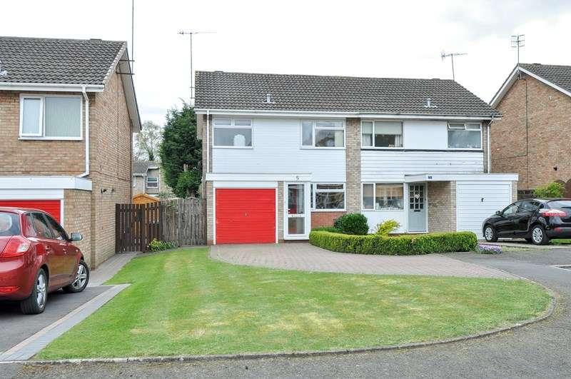 3 Bedrooms Semi Detached House for sale in Derwent Way, Bromsgrove