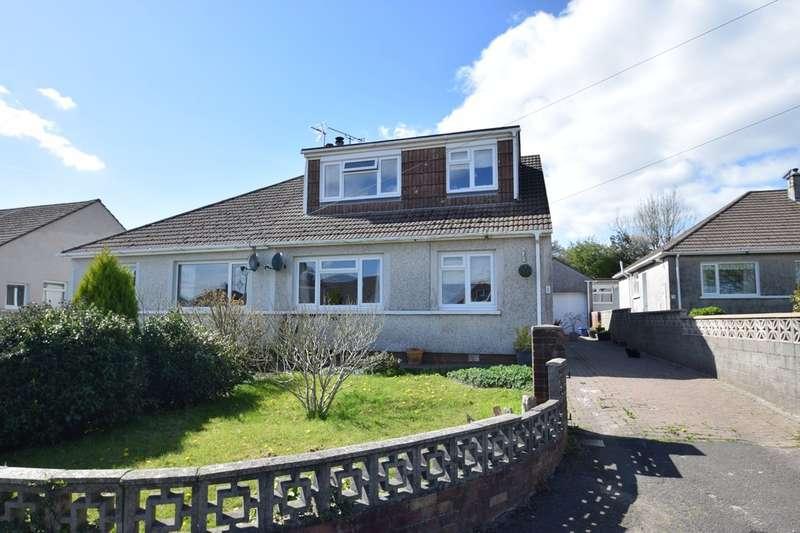 4 Bedrooms Semi Detached Bungalow for sale in 6 Penylan, Litchard, Bridgend, Bridgend County Borough, CF31 1QW.