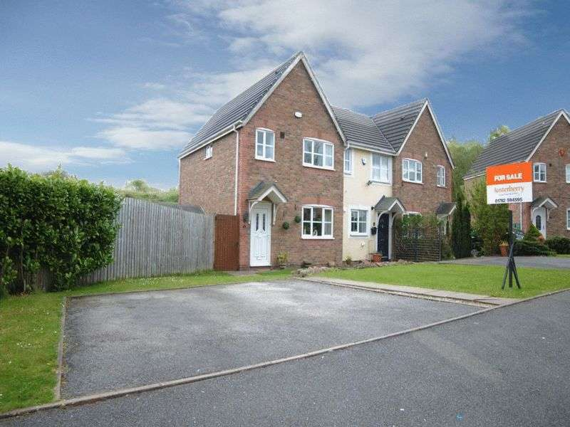 3 Bedrooms Semi Detached House for sale in Hampshire Crescent, Lightwood, Stoke-On-Trent, ST3 4TR