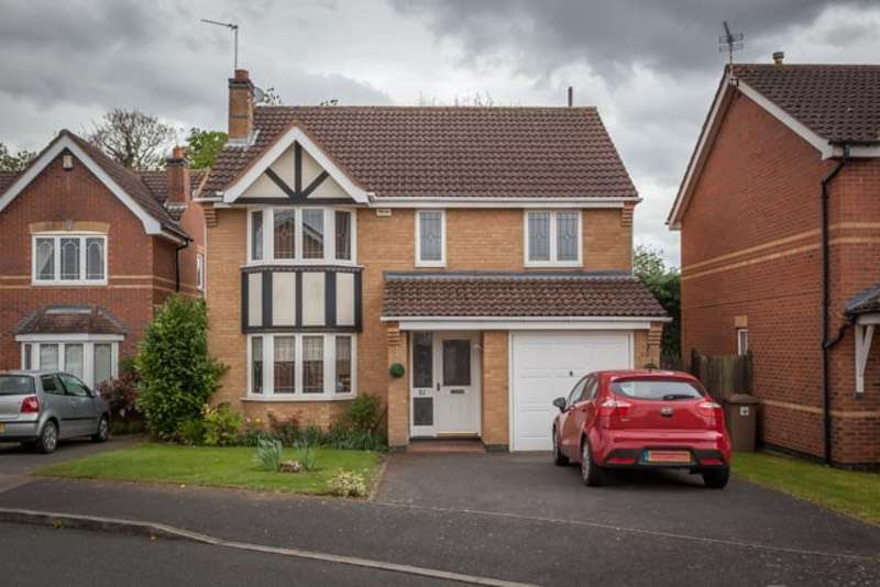 4 Bedrooms Detached House for sale in Bede close, Sleaford, Lincolnshire, NG34
