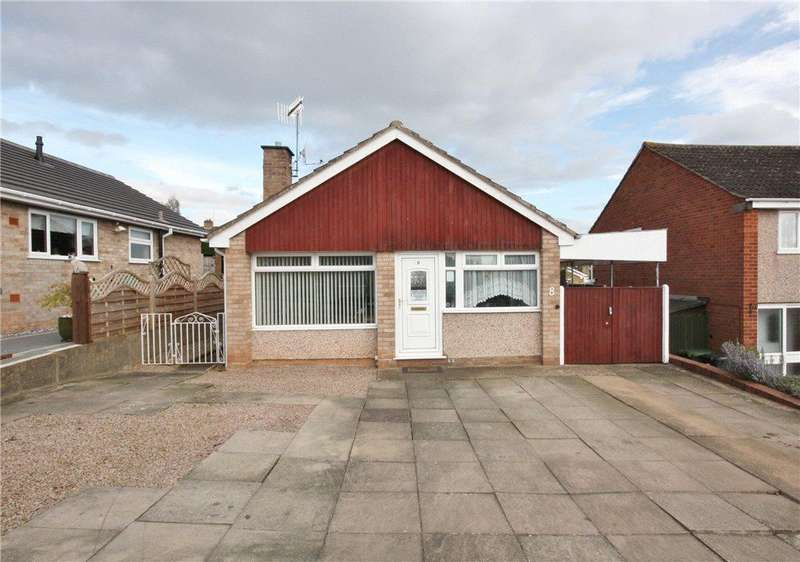 2 Bedrooms Detached Bungalow for sale in Bramley Avenue, Worcester, WR2