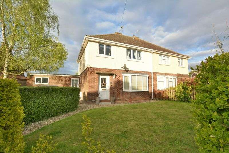 3 Bedrooms Semi Detached House for sale in Mount Road, Bracebridge Heath, Lincoln