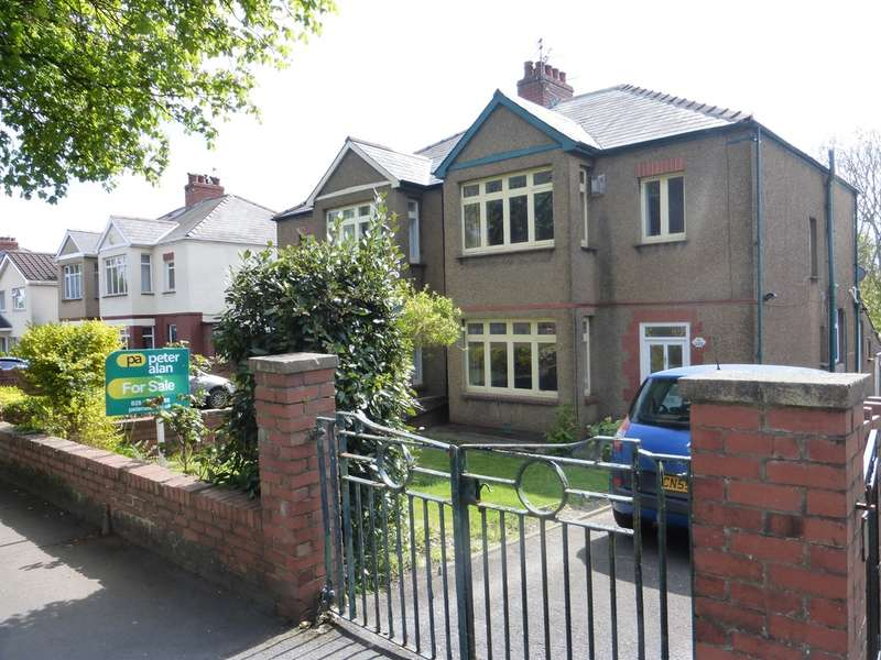 3 Bedrooms Semi Detached House for sale in New Road, Rumney, Cardiff