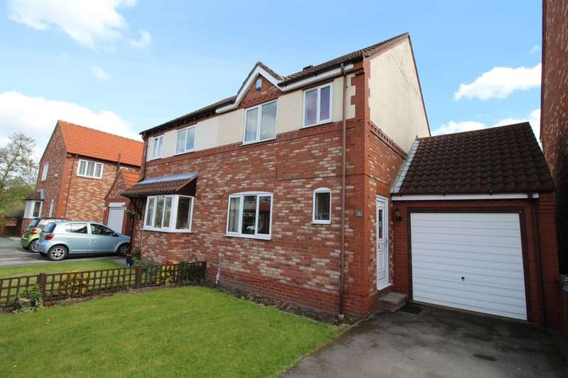 3 Bedrooms Semi Detached House for sale in Riverside Court, Rawcliffe, Goole, DN14
