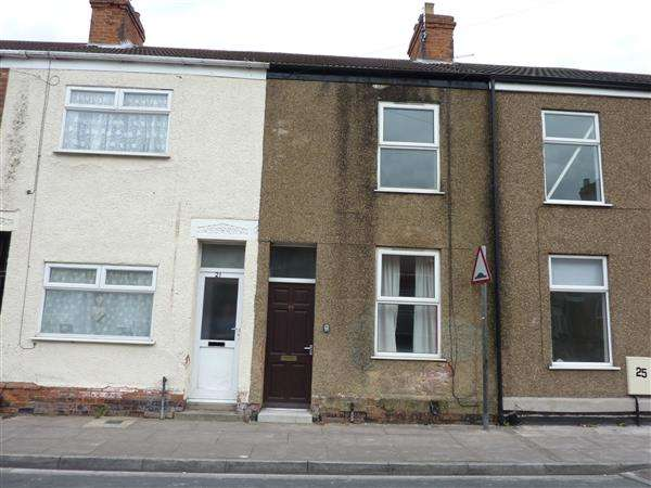 3 Bedrooms Terraced House for sale in DONNINGTON STREET, GRIMSBY