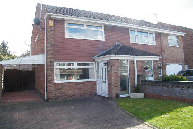 2 Bedrooms Semi Detached House for sale in Chesham Drive, Bramcote, Nottingham, NG9