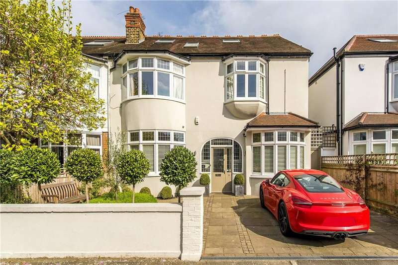 6 Bedrooms Semi Detached House for sale in Lowther Road, London, SW13