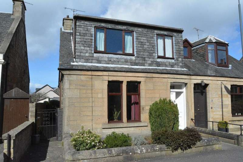 3 Bedrooms Semi Detached House for sale in George Street, Falkirk, Falkirk, FK2 7EY