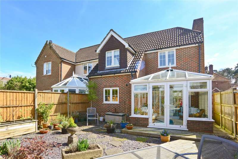 2 Bedrooms Semi Detached House for sale in Jacaranda Cottages, Beacon Hill Road, Hindhead, Surrey, GU26