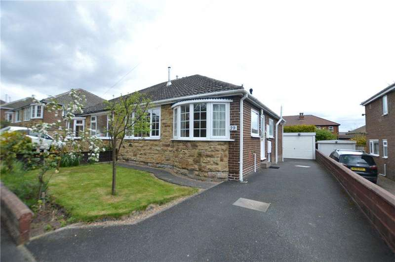 2 Bedrooms Semi Detached Bungalow for sale in Karon Drive, Horbury, Wakefield, West Yorkshire