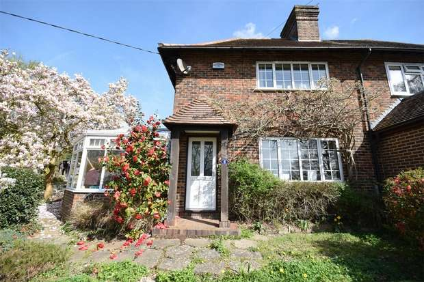3 Bedrooms Semi Detached House for sale in 6 Glebe Road, Weald, Sevenoaks, Kent