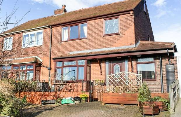 3 Bedrooms Semi Detached House for sale in Hillside Crescent, Horwich, Bolton, Lancashire