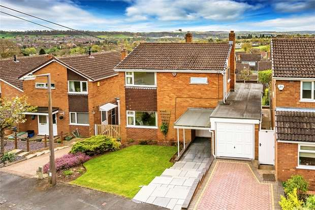 3 Bedrooms Detached House for sale in 43 Ludlow Road, BRIDGNORTH, Shropshire