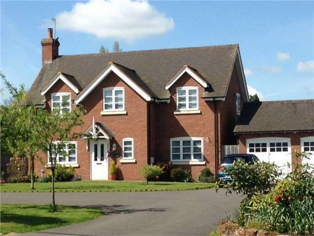 4 Bedrooms Detached House for sale in The Old Orchard, Robin Lane, Edgmond, Newport, Shropshire