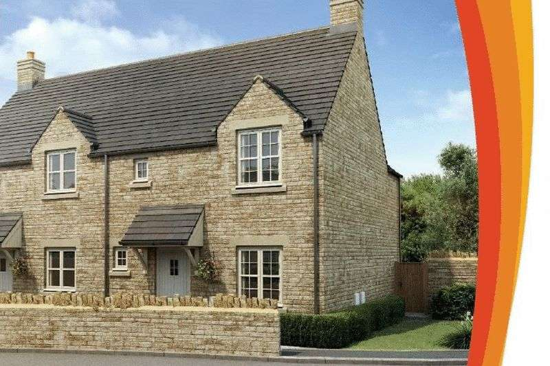2 Bedrooms Semi Detached House for sale in Stoneways, Fairford, Gloucestershire.