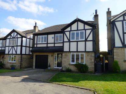 4 Bedrooms Detached House for sale in Mereside Gardens, Whaley Bridge, High Peak