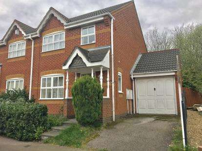 3 Bedrooms Semi Detached House for sale in Riverbank Road, Riverpoint, Willenhall, West Midlands