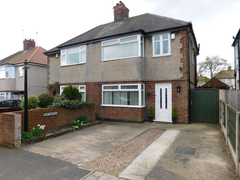 3 Bedrooms Semi Detached House for sale in Mayfair Avenue, Mansfield