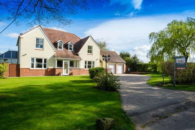 4 Bedrooms Detached House for sale in High House Lane, Albrighton, Wolverhampton