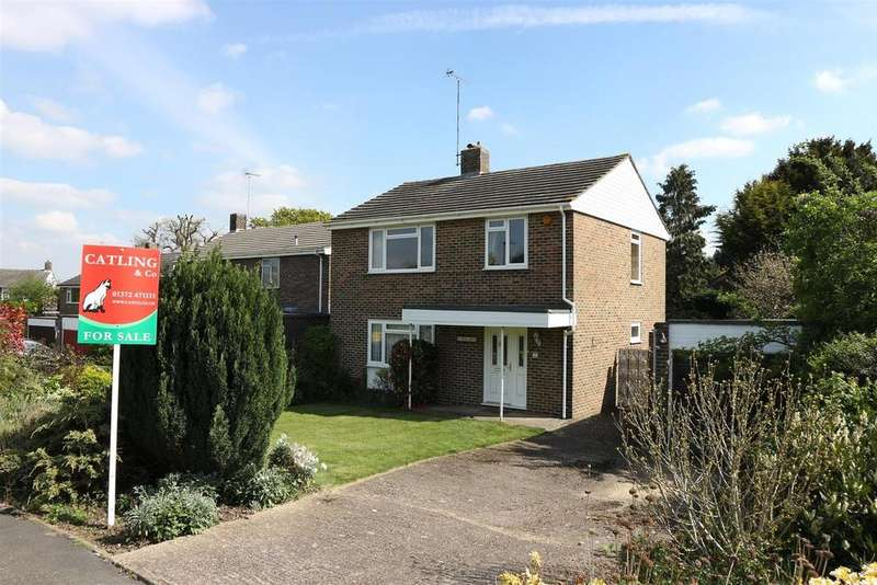 3 Bedrooms Detached House for sale in Elm Gardens, Claygate