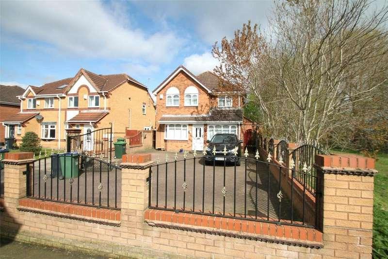 4 Bedrooms Detached House for sale in Keyte Close, Tipton, West Midlands