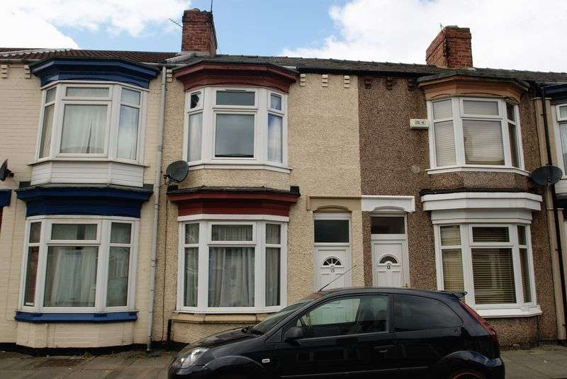 2 Bedrooms Terraced House for sale in Kildare Street, Middlesbrough