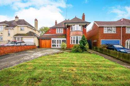 3 Bedrooms Detached House for sale in Bilston Road, Willenhall, West Midlands