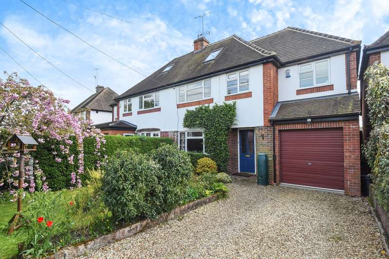 4 Bedrooms Semi Detached House for sale in Charvil House Road, Charvil, Reading, RG10