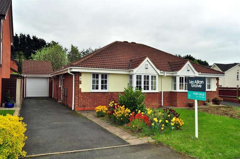 2 Bedrooms Semi Detached Bungalow for sale in Fieldfare Close, Cradley Heath
