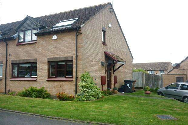 3 Bedrooms Semi Detached House for sale in Hambledon Rise, Danefield, Northampton, NN4