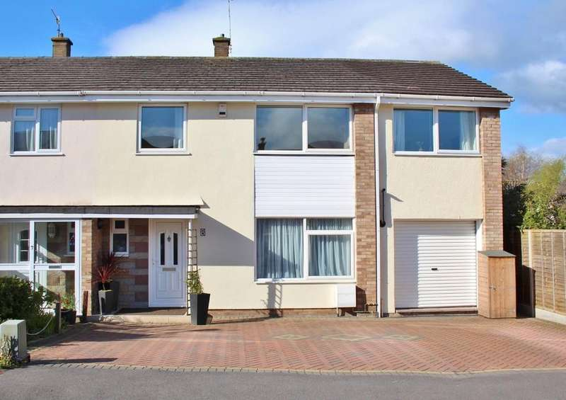 5 Bedrooms Semi Detached House for sale in Small cul-de-sac close to schools in Backwell