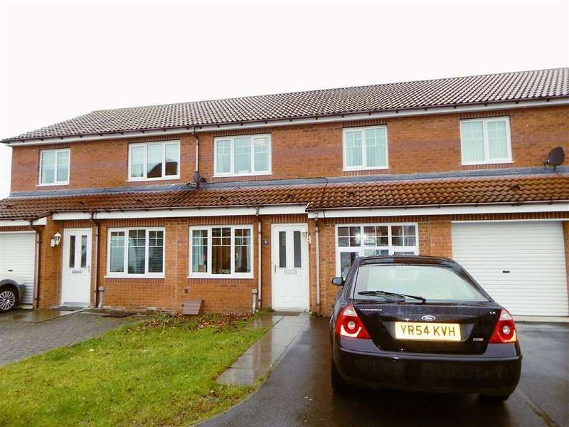3 Bedrooms Terraced House for sale in Alwin Close, Hadrian Mews, Wallsend, NE28