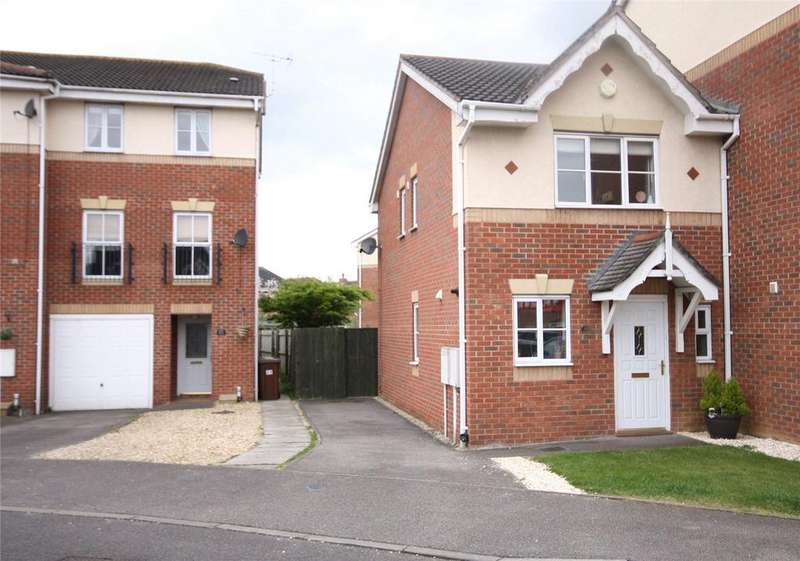 2 Bedrooms Semi Detached House for sale in Goodwood Way, Lincoln, LN6