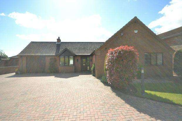 3 Bedrooms Detached Bungalow for sale in Rowson Gardens, Laceby, GRIMSBY