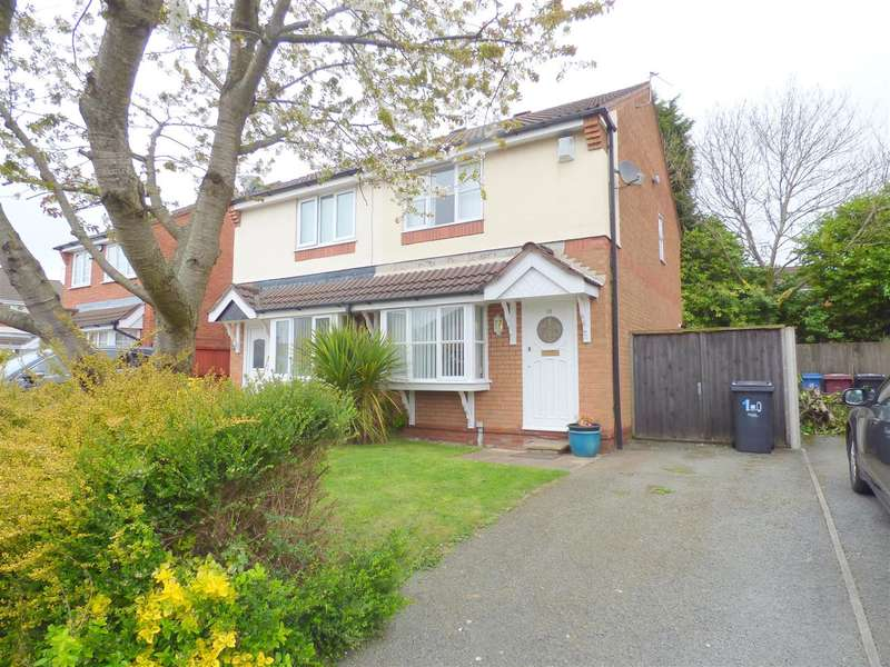 3 Bedrooms Semi Detached House for sale in Wokingham Grove, Huyton, Liverpool
