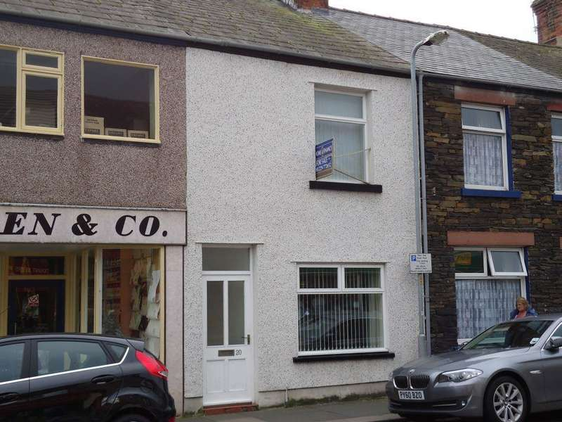 2 Bedrooms Terraced House for sale in Wellington Street, MILLOM