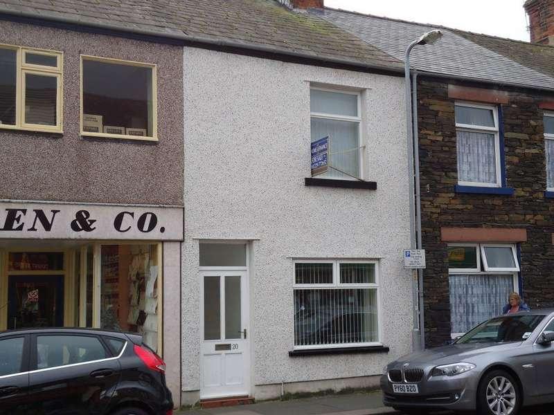 2 Bedrooms Terraced House for sale in Wellington Street, MILLOM