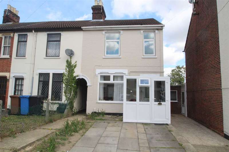 3 Bedrooms End Of Terrace House for sale in Bramford Road, Ipswich