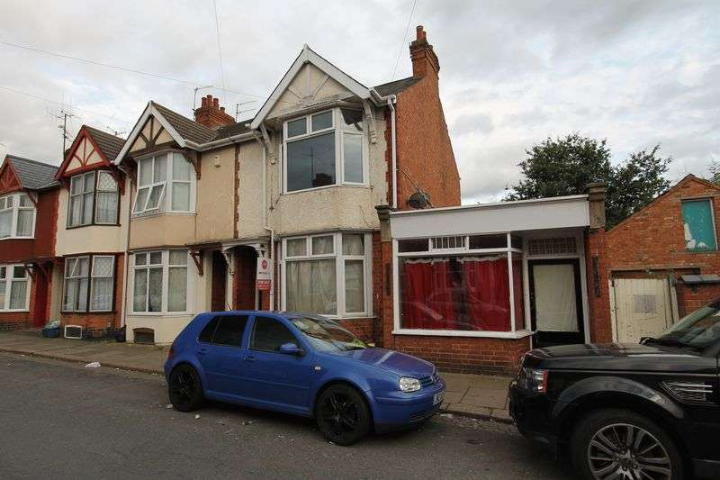 4 Bedrooms Terraced House for sale in Two Large Plots - Balmoral Road, Northampton