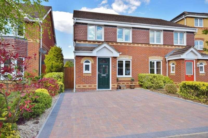 3 Bedrooms Semi Detached House for sale in Beggarwood, Basingstoke, RG22