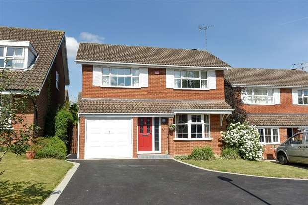 4 Bedrooms Detached House for sale in Overbury Avenue, WOKINGHAM, Berkshire
