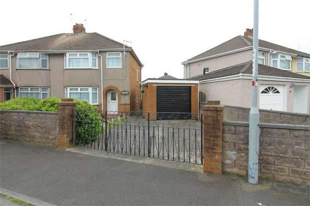 3 Bedrooms Semi Detached House for sale in Dorset Crescent, NEWPORT