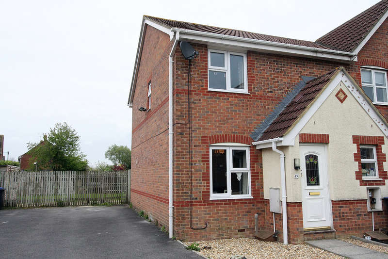 2 Bedrooms End Of Terrace House for sale in Daisy Close, Melksham