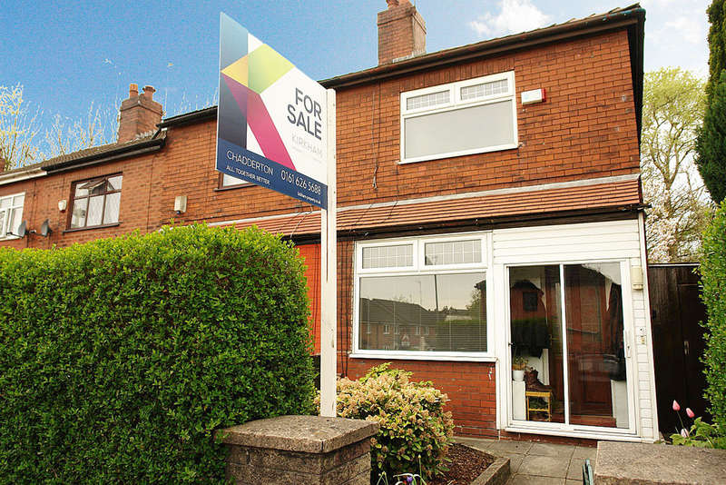 2 Bedrooms End Of Terrace House for sale in 254 Block Lane, Chadderton