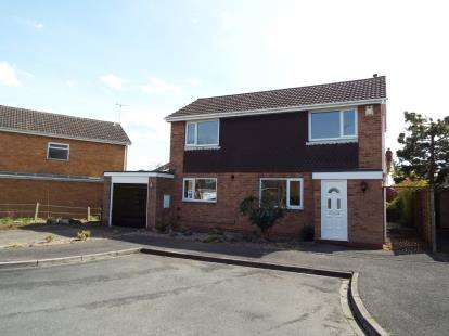 3 Bedrooms Detached House for sale in Westward Close, Uttoxeter, Staffordshire