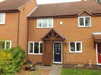 2 Bedrooms Terraced House for sale in Herons Court, West Bridgford, Nottingham