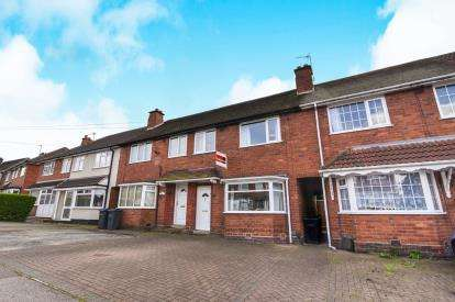 3 Bedrooms Terraced House for sale in Ringinglow Road, Great Barr, Birmingham, West Midlands
