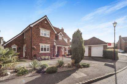 4 Bedrooms Detached House for sale in Beamish Close, Appleton, Warrington, Cheshire