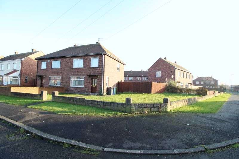3 Bedrooms Semi Detached House for sale in Lanark Drive, Jarrow