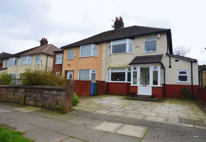 3 Bedrooms Semi Detached House for sale in Halewood Drive, Woolton